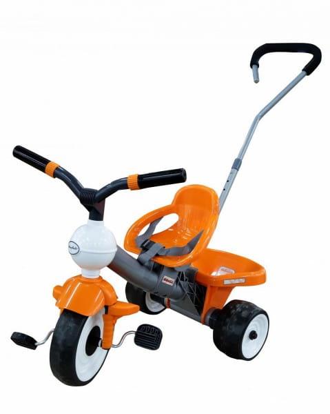Купить Детский велосипед Coloma Дидактик №2 (с ручкой и ремешком) в интернет магазине игрушек и детских товаров