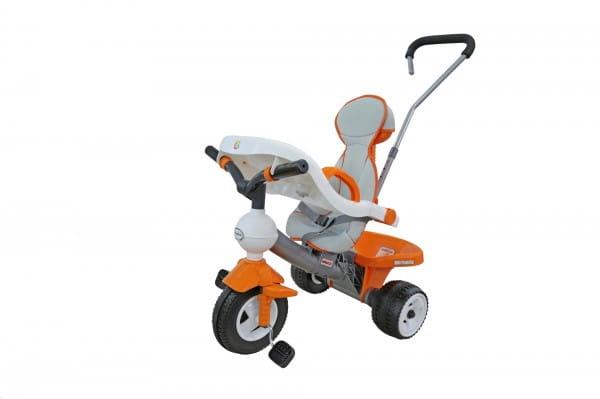 Купить Детский велосипед Coloma Дидактик №3 (с игровой панелью, ручкой, ремешком и чехлом) в интернет магазине игрушек и детских товаров
