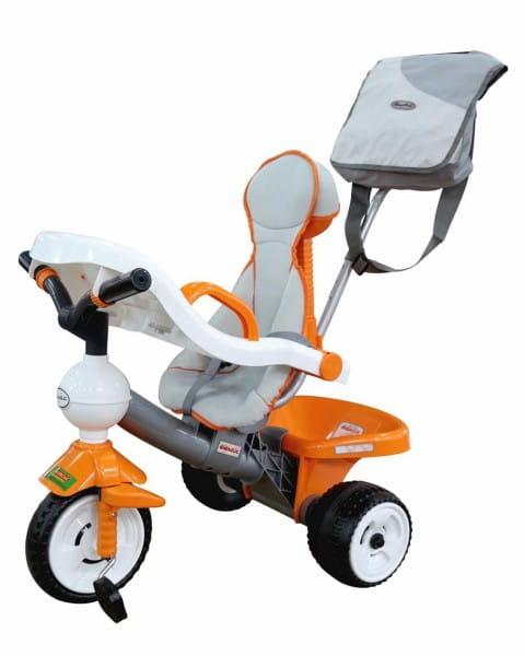Купить Детский велосипед Coloma Дидактик №3 (с игровой панелью, ручкой, ремешком, чехлом и сумкой) в интернет магазине игрушек и детских товаров