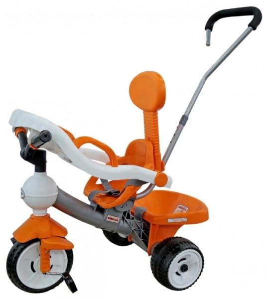 Купить Детский велосипед Coloma Дидактик (с игровой панелью, ручкой и ремешком) в интернет магазине игрушек и детских товаров