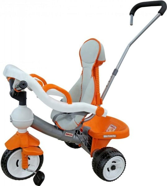 Купить Детский велосипед Coloma Дидактик (с игровой панелью, ручкой, ремешком и чехлом) в интернет магазине игрушек и детских товаров