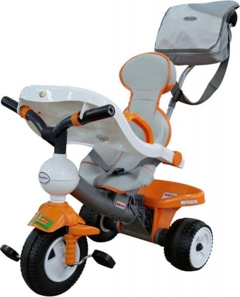 Детский велосипед Coloma 46604_PLS Дидактик (с игровой панелью, ручкой, ремешком, чехлом и сумкой)