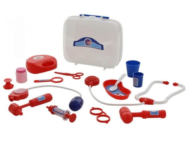 Игровой набор PALAU TOYS Доктор №3 (в чемоданчике)