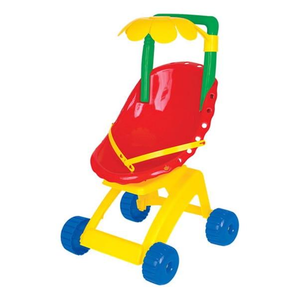 Купить Коляска для куклы Cavallino Ромашка в интернет магазине игрушек и детских товаров