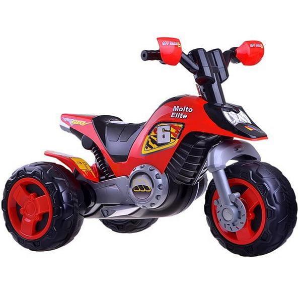 Купить Мотоцикл Molto Elite 6 - красный в интернет магазине игрушек и детских товаров
