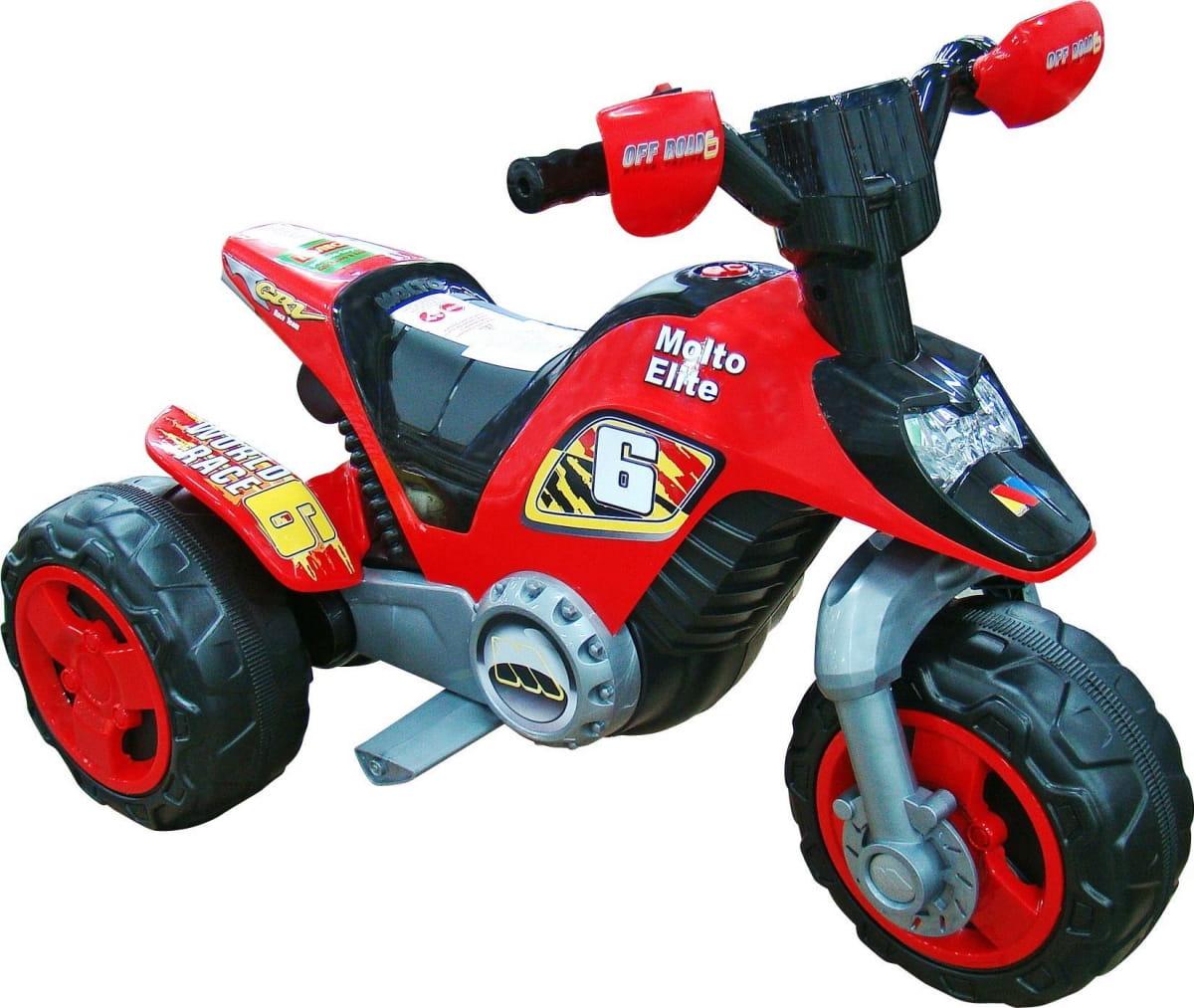 Мотоцикл Molto 35882_PLS Elite 6 - красный