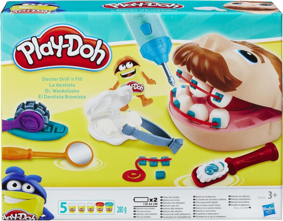 Набор пластилина Play-Doh Мистер Зубастик - новая версия (HASBRO)