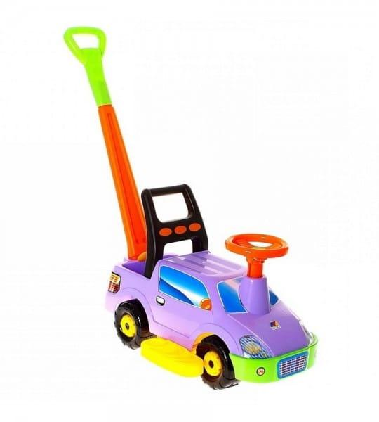 Каталка-автомобиль Molto Пикап с ручкой 2