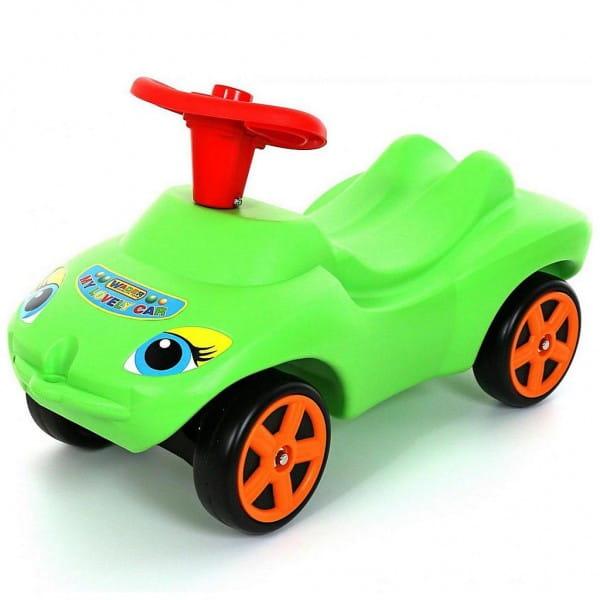 Каталка Molto Мой любимый автомобиль - зеленая