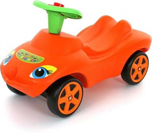 Каталка Molto Мой любимый автомобиль - оранжевая