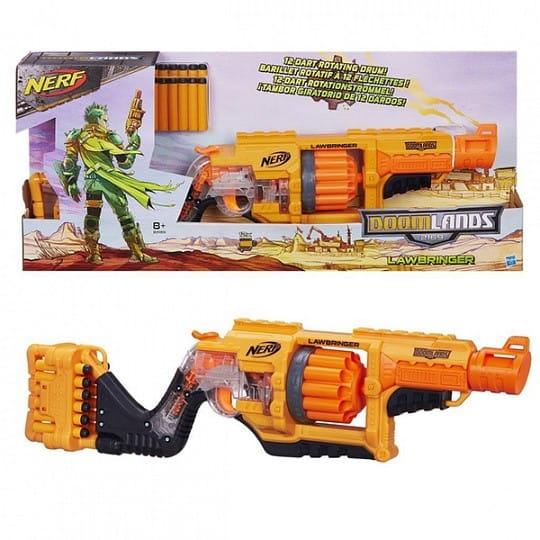 Бластер Nerf Doomlands Думлэндс Бластер Законник (Hasbro)
