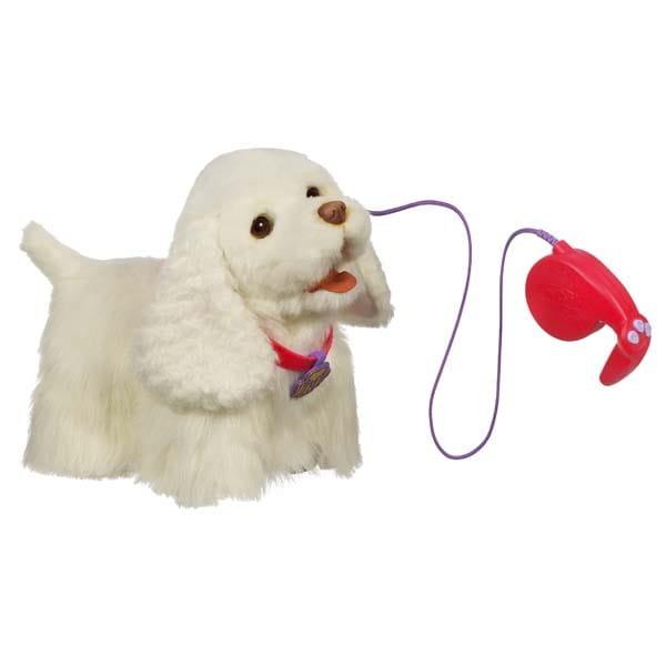 Купить Интерактивный ходячий щенок FurReal Friends Go Go - белый (Hasbro) в интернет магазине игрушек и детских товаров