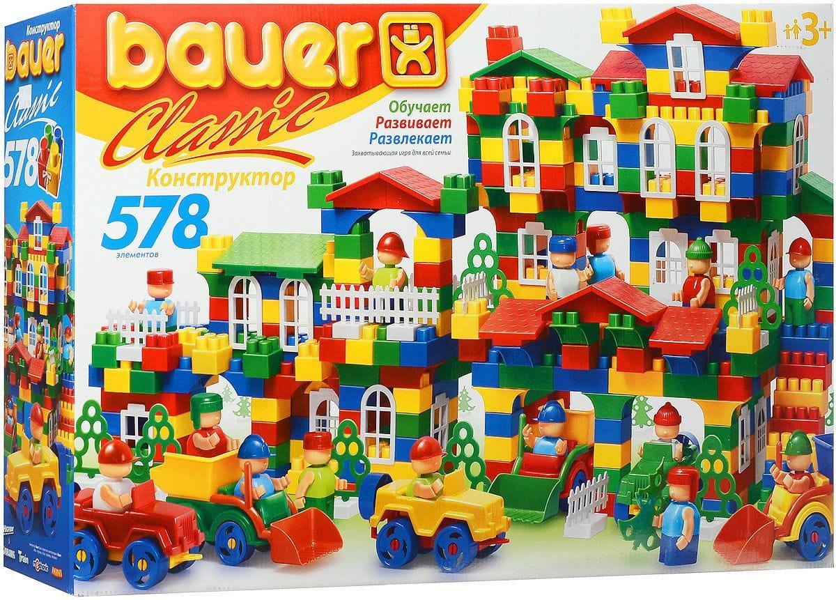 Конструктор Bauer 201b Classik New - 578 деталей
