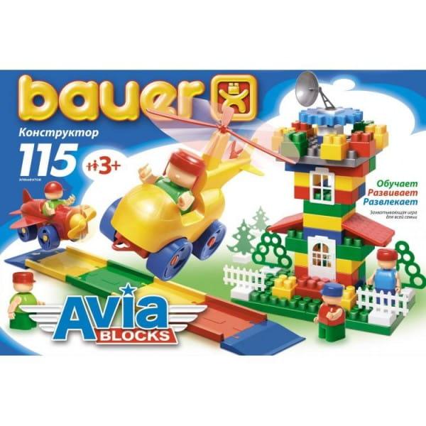 Конструктор Bauer Avia - 115 деталей