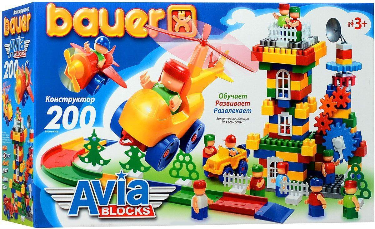 Конструктор Bauer 246b Avia - 200 деталей