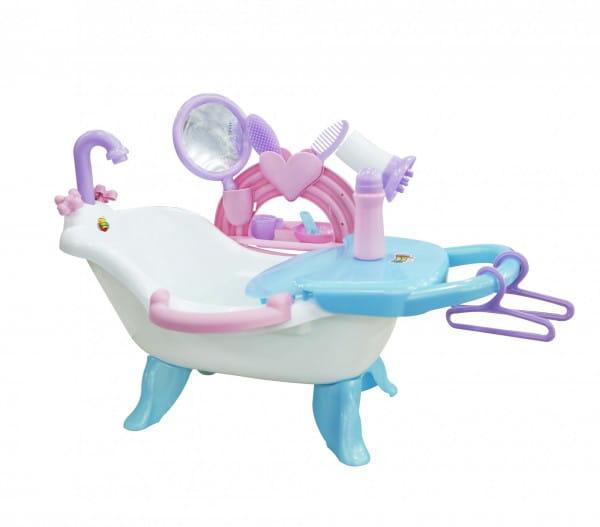 Игровой набор Polesie для купания кукол с аксессуарами