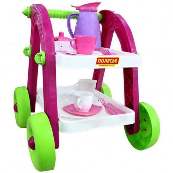 Купить Игровой набор Polesie Сервировочный столик Stars Chef в интернет магазине игрушек и детских товаров