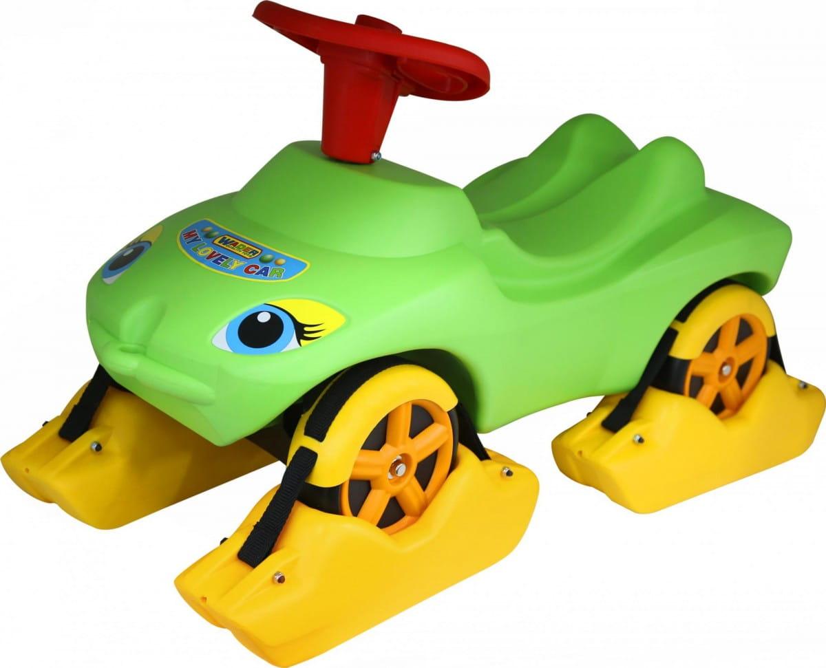 Каталка WADER Мой любимый автомобиль - зеленая