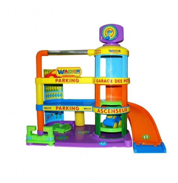 Купить Игровой набор Wader Гараж Беби с автомобилями в интернет магазине игрушек и детских товаров