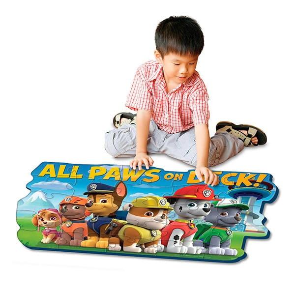 Купить Коврик-пазл Paw Patrol Щенячий патруль 24 элемента (Spinmaster) в интернет магазине игрушек и детских товаров