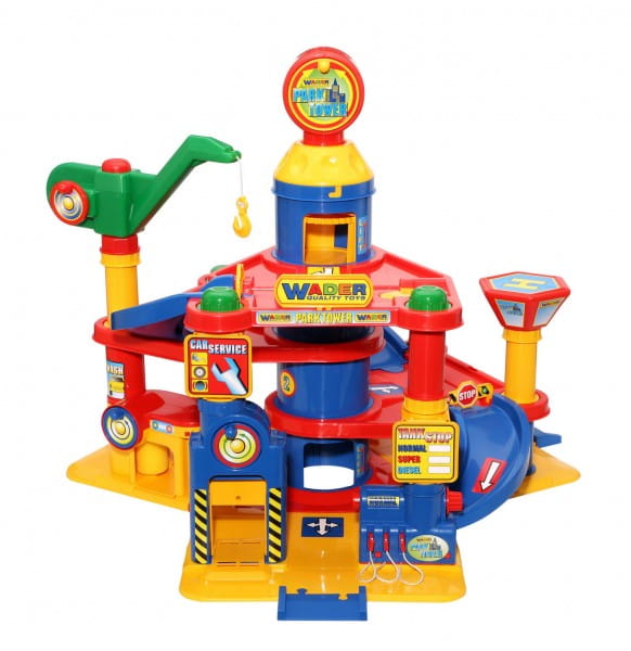 Купить Игровой набор Wader Паркинг с автомобилями (4 уровня) в интернет магазине игрушек и детских товаров