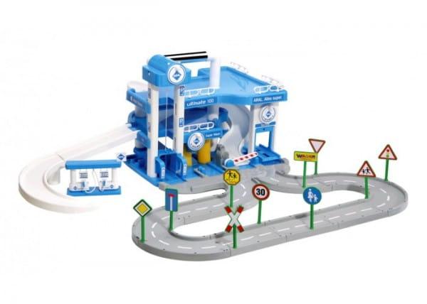 Купить Игровой набор Wader Паркинг Aral (3 уровня) в интернет магазине игрушек и детских товаров
