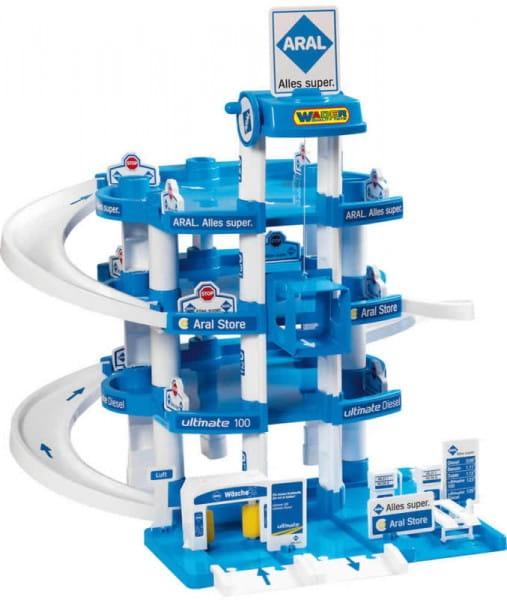Купить Игровой набор Wader Паркинг Aral (4 уровня) в интернет магазине игрушек и детских товаров