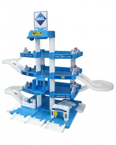 Купить Игровой набор Wader Паркинг Aral-2 (4 уровня) в интернет магазине игрушек и детских товаров