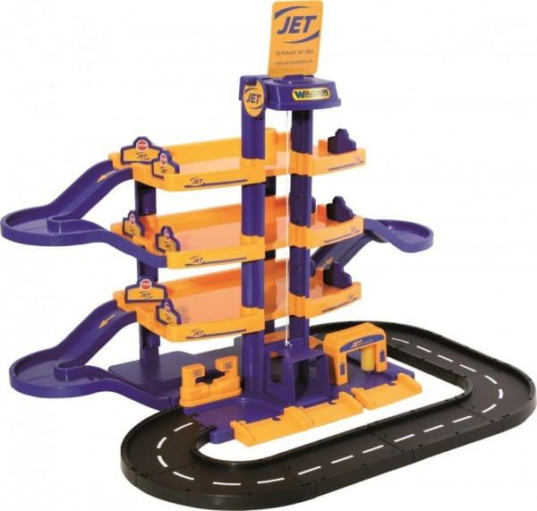 Игровой набор Wader Паркинг Jet с дорогой (4 уровня)
