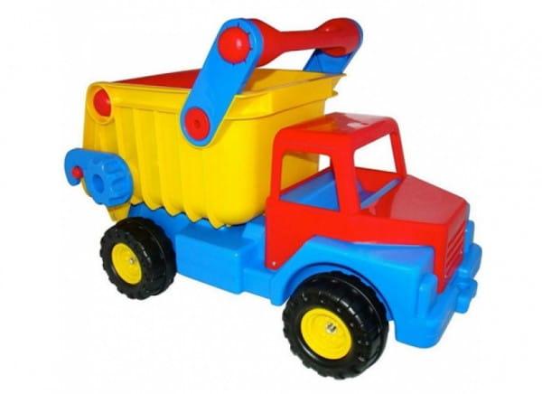 Самосвал Wader 37916_PLS с резиновыми колесами