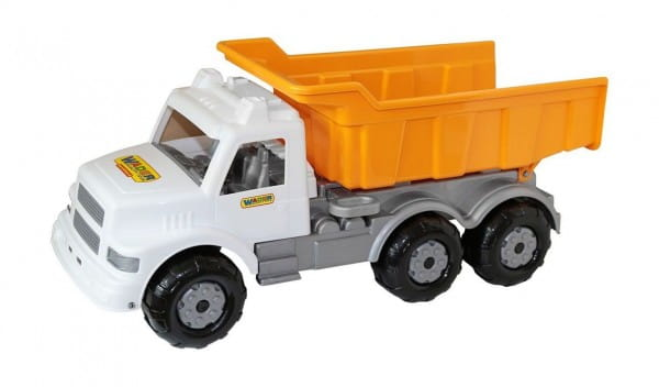 Дорожный автомобиль Wader 43689_PLS Буран - бело-оранжевый