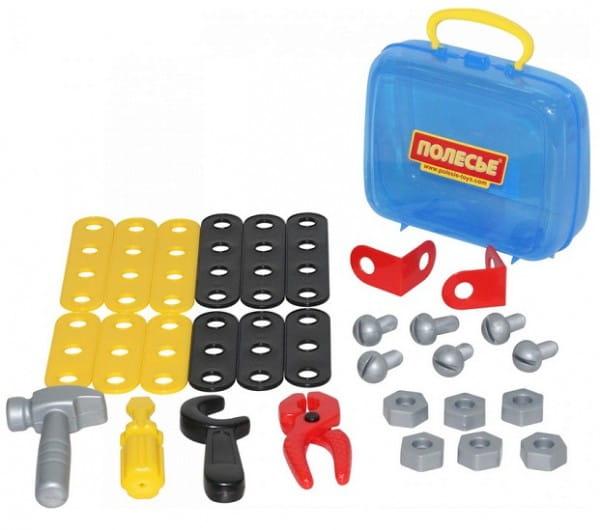 Игровой набор Palau Toys Механик в чемоданчике - 30 элементов
