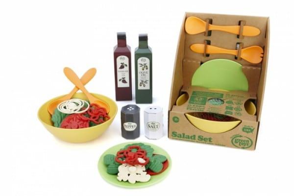 Купить Игровой набор Green Toys Приготовь салат в интернет магазине игрушек и детских товаров