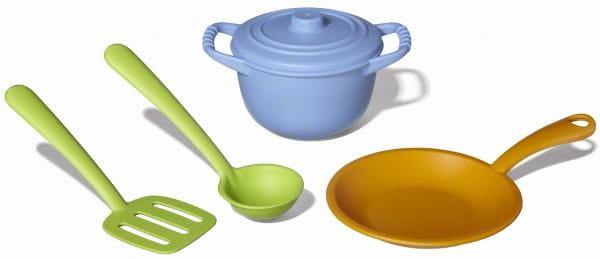Купить Набор кухонной посуды Green Toys в интернет магазине игрушек и детских товаров