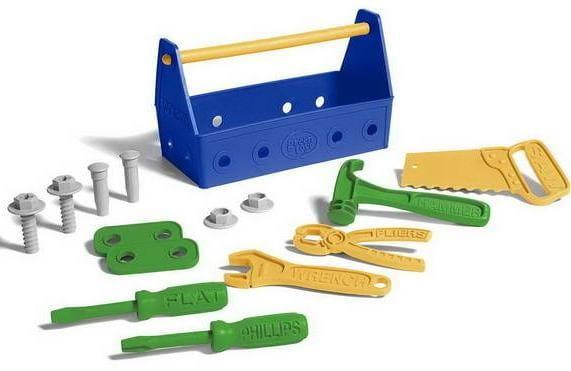Купить Игровой набор Green Toys Столярные инструменты в интернет магазине игрушек и детских товаров