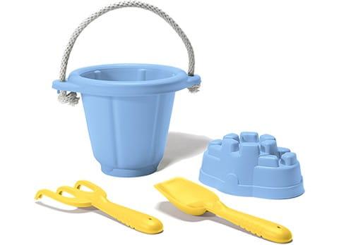 Купить Игровой набор Green Toys для песочницы - голубой в интернет магазине игрушек и детских товаров