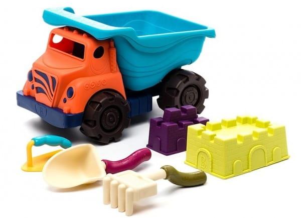 Купить Игровой набор B Summer Большой самосвал с аксессуарами в интернет магазине игрушек и детских товаров
