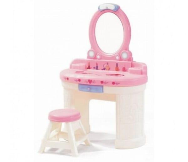 Туалетный столик Step2 757900_st2 Маленькая Барби - розовый
