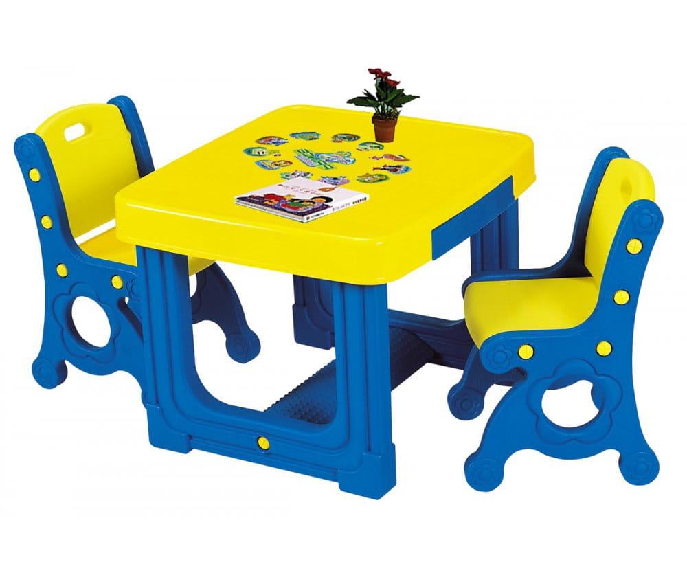 Набор мебели Haenim Toy Парта (два стула)
