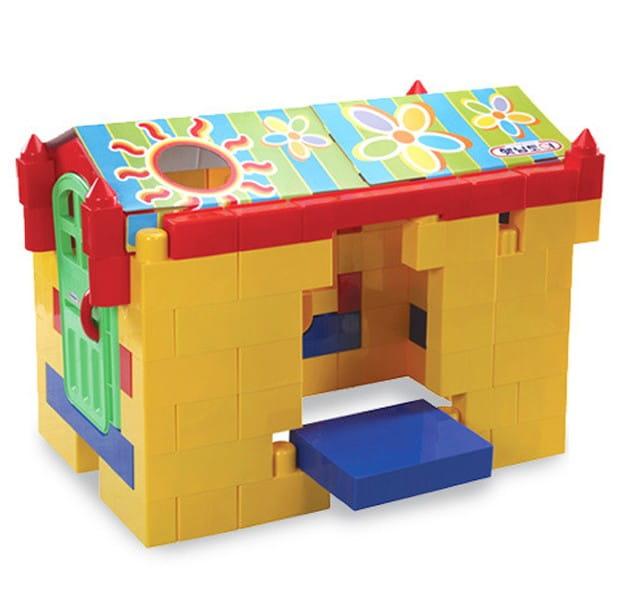 Игровой конструктор-домик Haenim HN-991 Toy Big Block с крышей