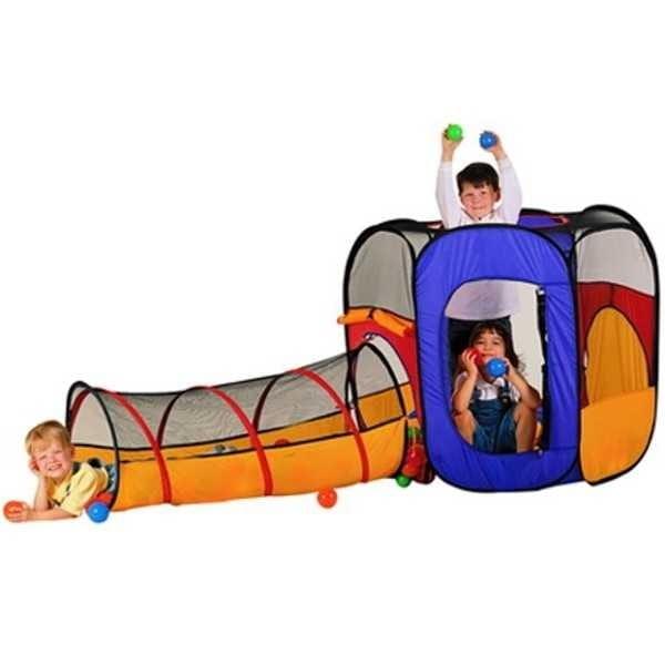 Купить Палатка-манеж Edu-Play Время джунглей в интернет магазине игрушек и детских товаров
