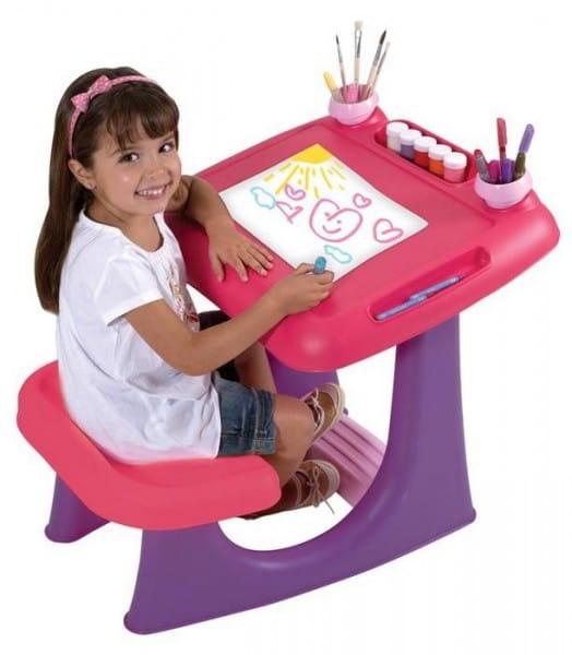 Набор мебели Keter KT-2806-G Столик для рисования Шелли - для девочки