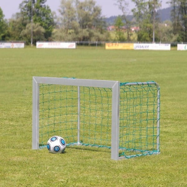 Купить Футбольные ворота из алюминия Union-Play серые (1,80х1,20м) в интернет магазине игрушек и детских товаров