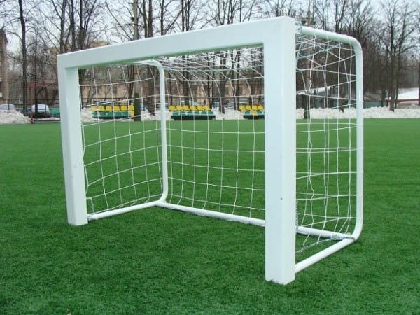 Купить Футбольные ворота из алюминия Union-Play с клипсами (1,80х1,20м) в интернет магазине игрушек и детских товаров