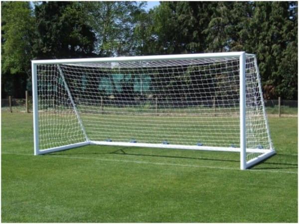 Купить Ворота футбольные алюминиевые Union-Play (7,32х2,44м) в интернет магазине игрушек и детских товаров