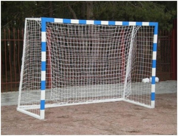 Купить Ворота для мини-футбола Union-Play разборные (3х2х0,4х1м) в интернет магазине игрушек и детских товаров