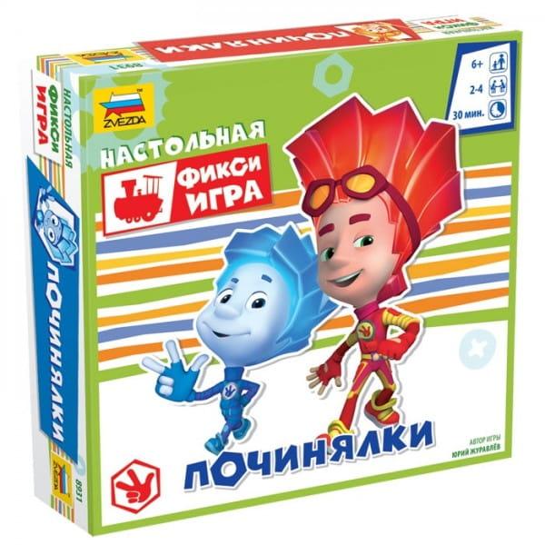 Купить Настольная игра Звезда Фиксики - Починялки в интернет магазине игрушек и детских товаров