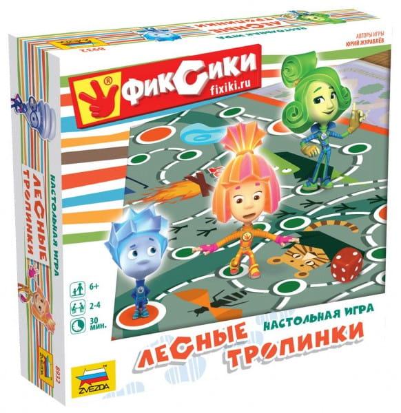 Настольная игра Звезда 8932 Фиксики - Лесные тропинки
