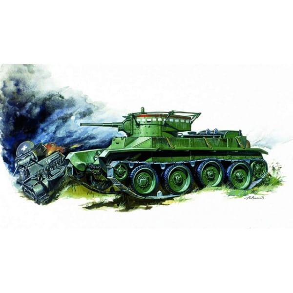 Сборная модель Звезда 3507з Танк БТ-5