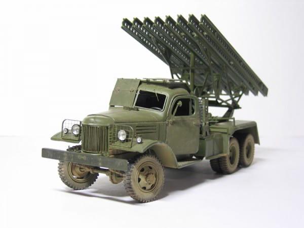 Сборная модель Звезда БМ-13 Катюша